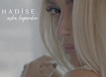 """Hadise İlk EP'si """"Aşka kapandım""""ı Dinleyicisi ile Buluşturdu…"""