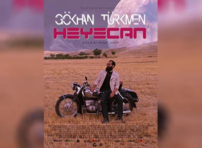 """Gökhan Türkmen'den Kapadokya'da Fütüristik Klip: """"Heyecan"""""""